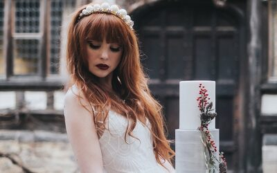 Feature:  'Romance at The Castle' Classic Contemporary Wedding Inspiration with a Festive Twist